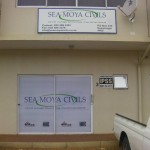 One way vision signage manufacturing